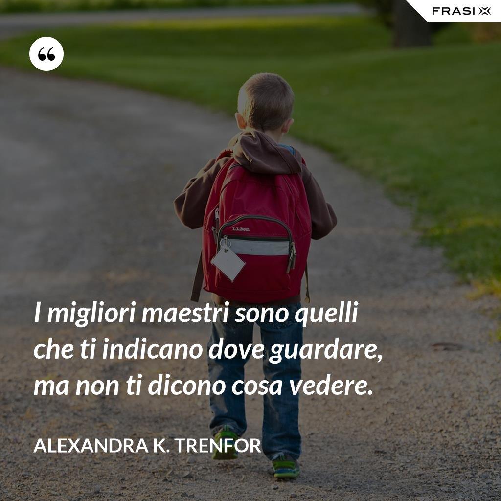 Le Frasi Per La Maestra Piu Belle Da Dedicarle Alla Fine Dell Anno